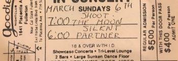Moon Ticket 3/6/88
